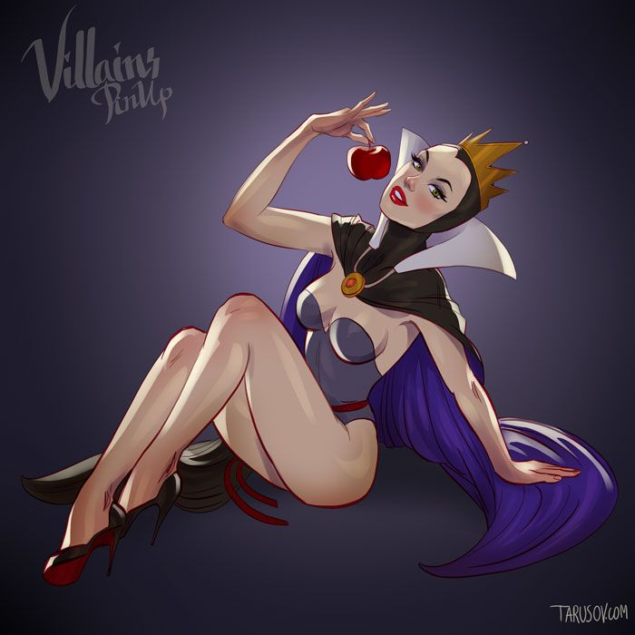9 Disney Villains Reimagined as Pinup Models [NSFW]