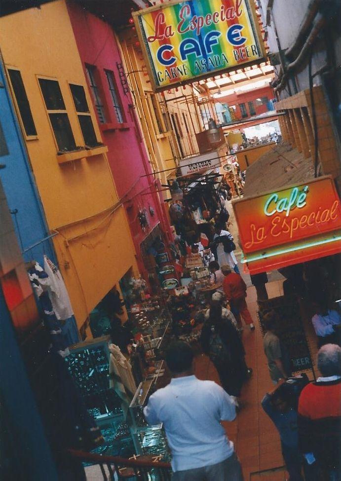 Downtown Tijuana Mexico