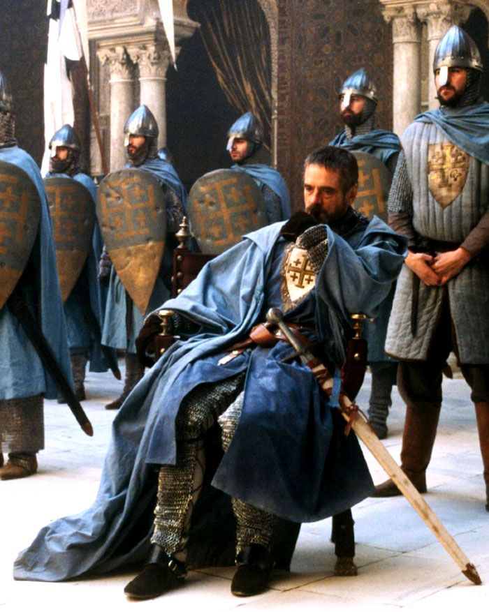 "Jeremy Irons en ""El Reino de los Cielos"" (Kingdom of Heaven), 2005"