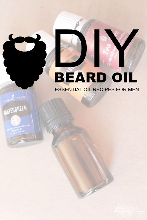 DIY Beard Essential Oil Recipe for Men! No Shave November Tips and Tricks - Are you ready?