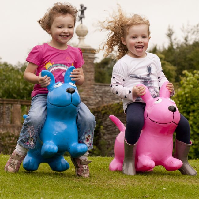 Happy Hopperz take bouncing to a whole new level! Suitable for indoors or outdoors play.