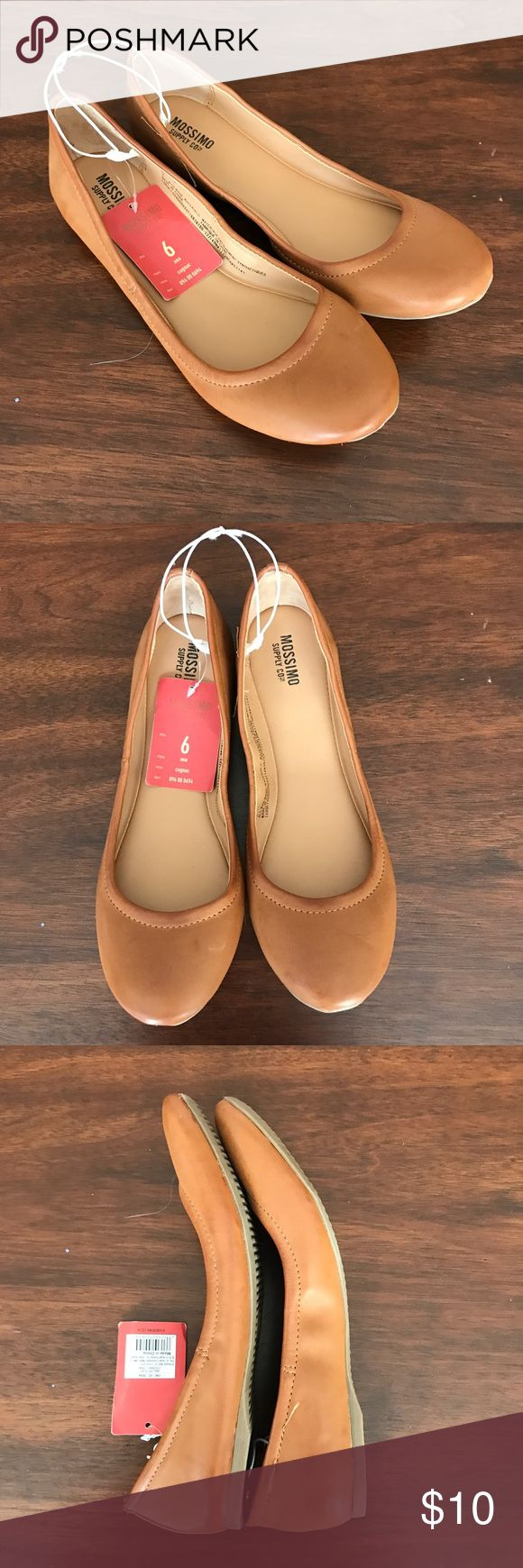 Mossimo saddle brown ballet flats These are saddle brown ballet flats. NWT! Size 6 No holds, trades, modeling Price firm #lilkittylady Mossimo Supply Co. Shoes Flats & Loafers