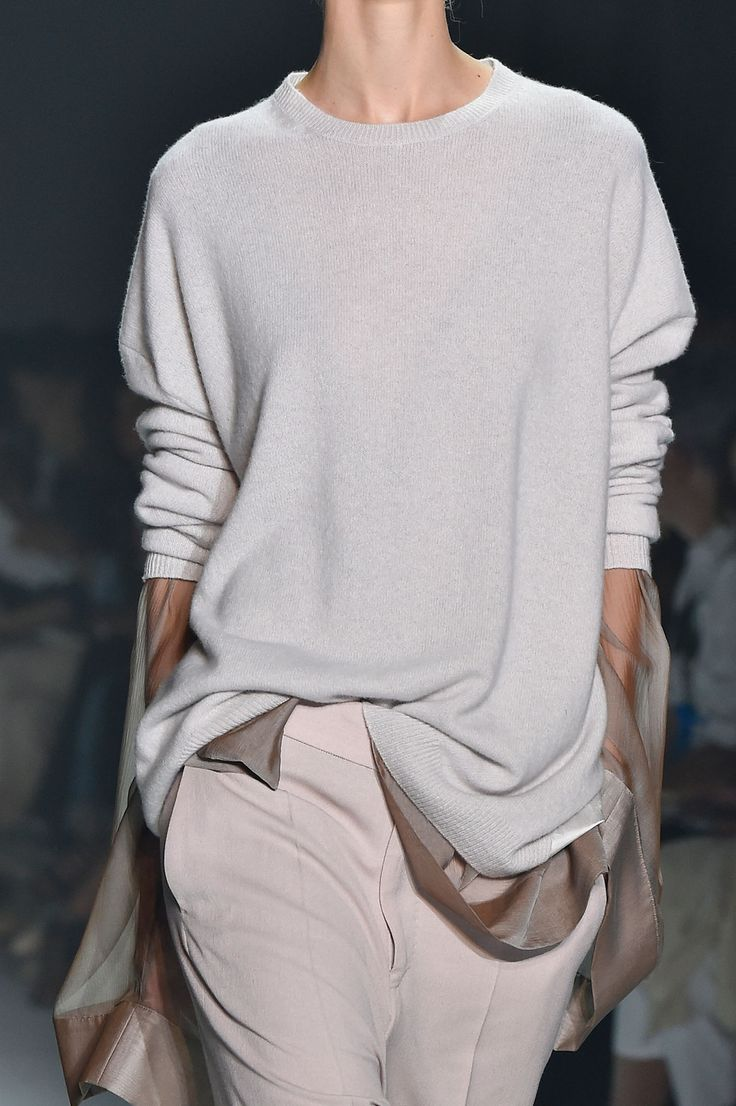 Haider Ackermann at Paris Fashion Week Spring 2015.