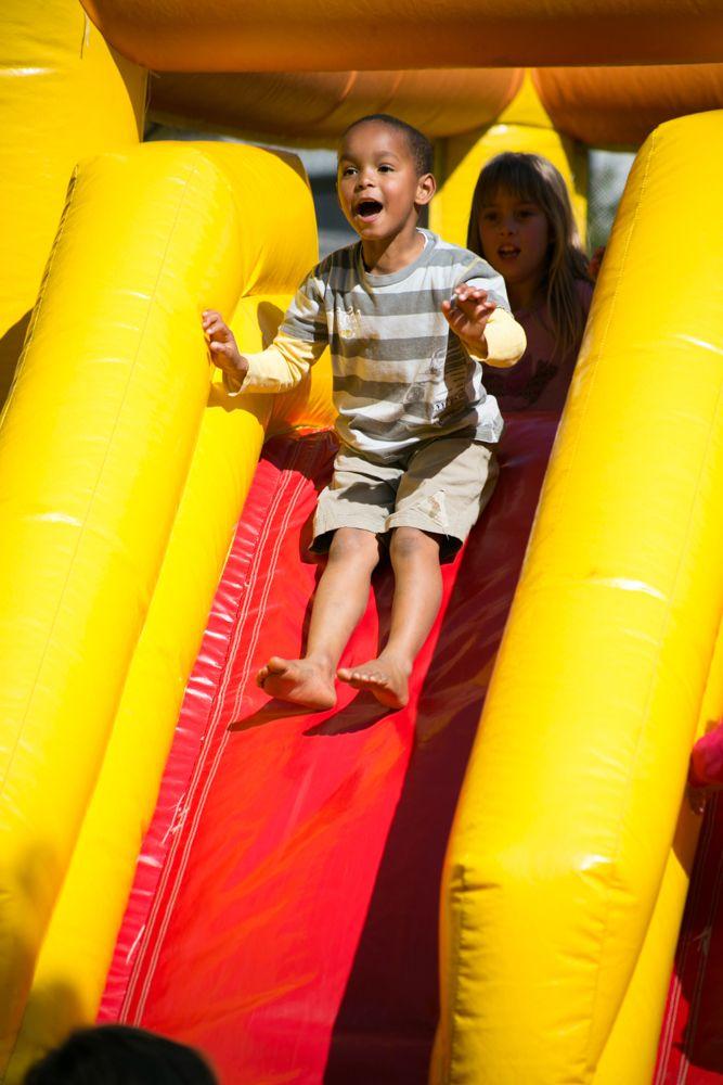 jumping castles every weekend @Rhebokskloof