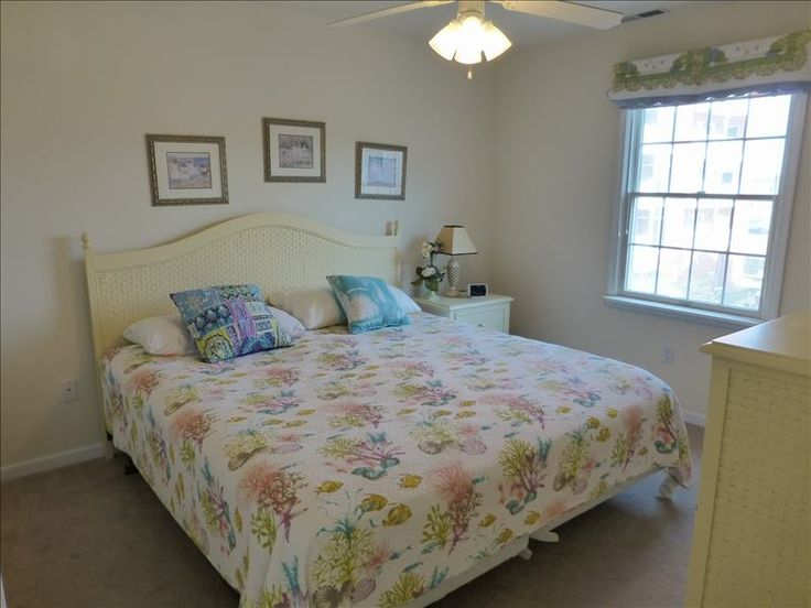 This home has 3 bedrooms and 2 baths. This is the bright and cozy master bedroom.