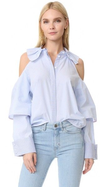 Romanchic Apple Shoulder Shirt