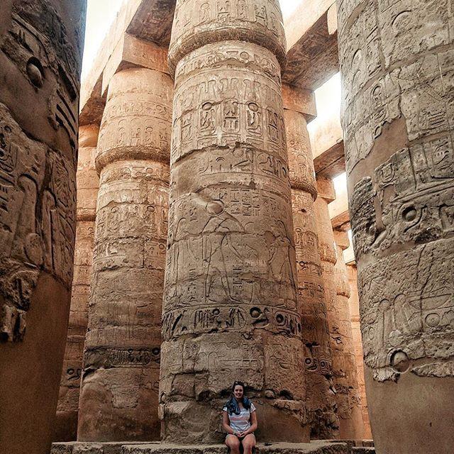 📸: Karnak Temple. Walk around this massive open air museum, and take in the enormous structures that took the reign of almost 30 Pharaohs to complete! 🕵🏼♀️  www.thegirlswhowander.com #thegirlswhowander #egypt #traveltalktours #karnak #hypostlehall #temple #pharaoh #ancientegypt #luxor #thebes #photography #picoftheday #photooftheday #GirlsBornToTravel #girlaroundworld #sheisnotlost #wearetravelgirls #backpacker #LiveIntrepid #wannagohere #passportcollective #instatravel #photooftheday…