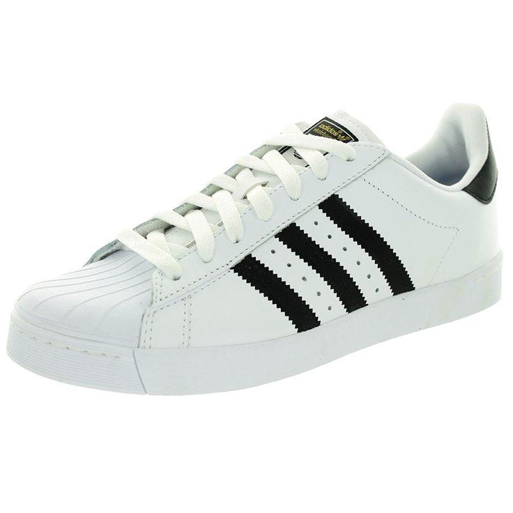 Adidas Performance Men's Adidas Running White Superstar Vulc Adv Skate Shoes