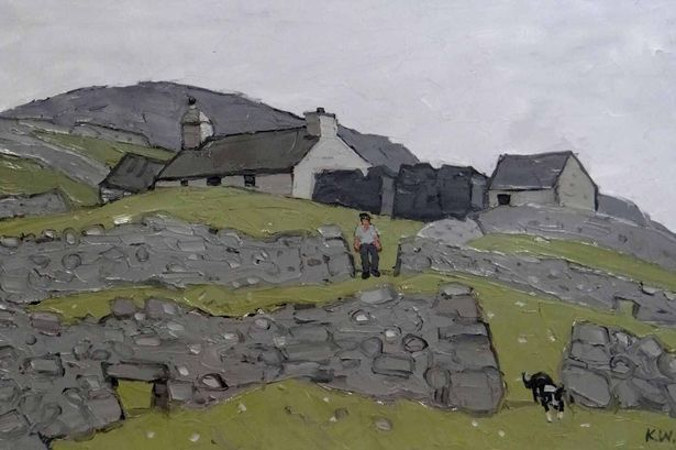 Work from the celebrated Anglesey artist is set to go under the hammer later this month