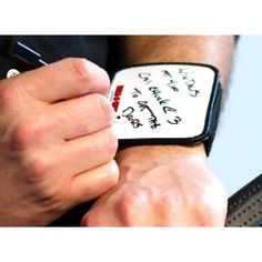 """Omg genius level nursing idea!!!!! No more writing on your hand! or losing your """"brains""""."""