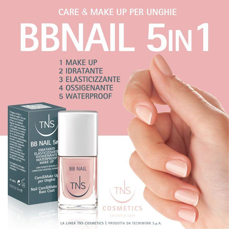 BB Nail - 5 funzioni in un solo prodotto, per unghie naturalmente bellissime!