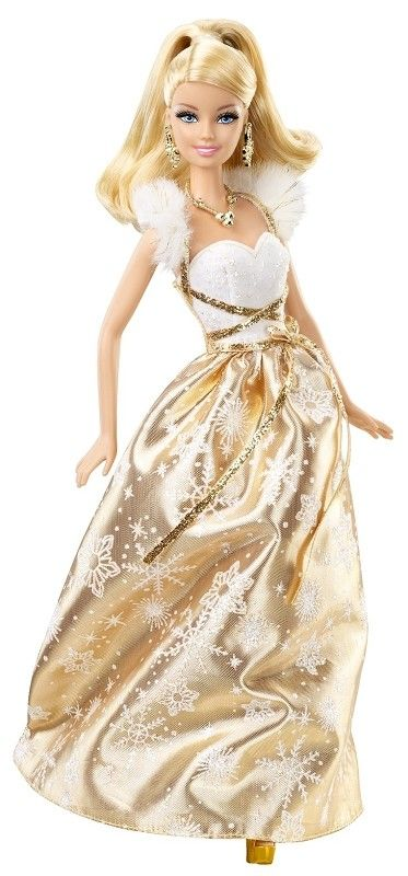 New 2012 Barbie 2012 Holiday Barbie Doll                                                                                                                                                                                 More