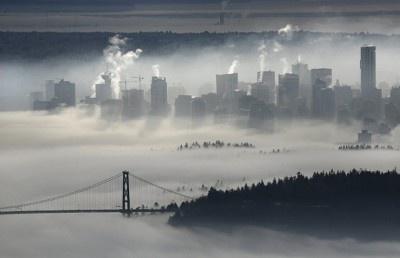 Lions Gate Bridge. Vancouver ,BC.