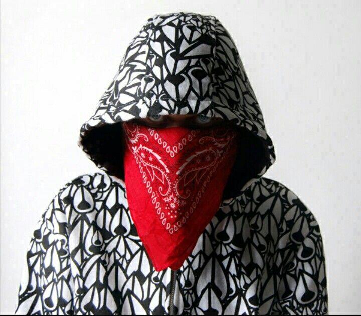 Bandana Masked Style With Hood