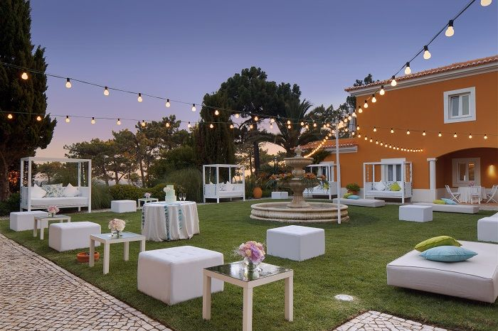 Wedding Cocktail Lounge @ Senhora da Guia Hotel, Portugal. #destinationweddingsinportugal #weddingdestinationinportugal #weddingportugal #casamentoportugal #casamentohotelportugal