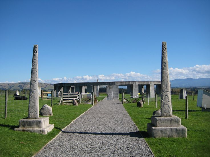 Day 9 Feature down Under: Art, Culture, History. Stonehenge Aotearoa is a southern hemisphere version of its northern namesake, in the Wairarapa. This, plus art galleries, cultural events and more on our website Http://www.experientialtraveller.com