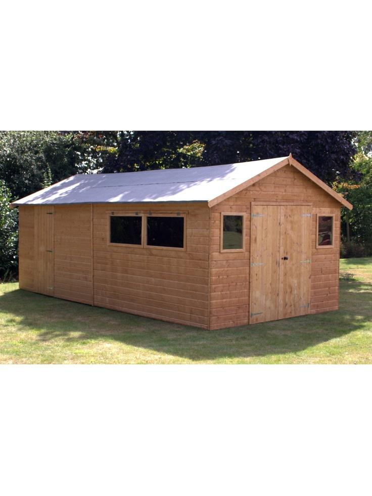 20 x 10 ft workshop shed ismecom