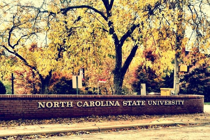 Fall foliage at NC State