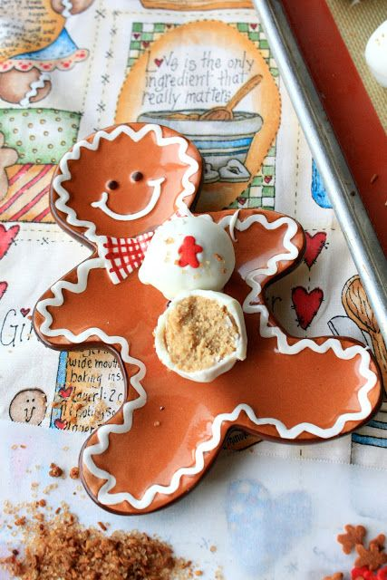 Munchkin Munchies: Oreo Gingerbread Cookie Truffles