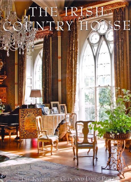 """The Irish Country House"" interior design book"