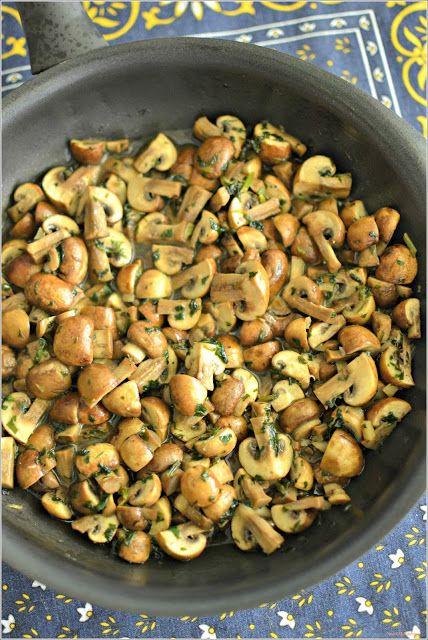 Sweet my Kitchen: Cogumelos à bulhão pato