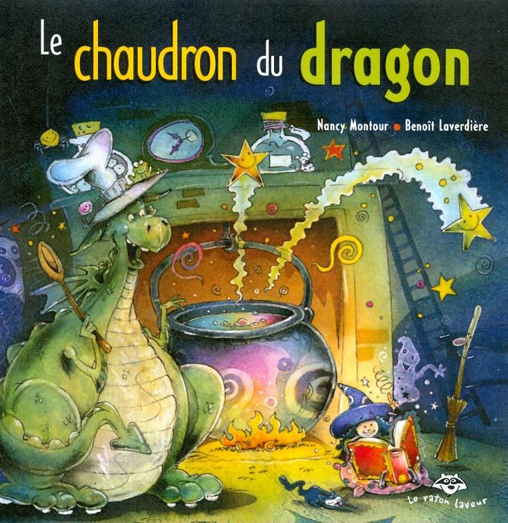 Le chaudron du dragon - Pinoche le dragon découvre une drôle de petite maison au cœur de la forêt. Trop curieux, il décide d'y entrer. Miam! Une bonne soupe semble mijoter sur le feu. Mais en regardant de plus près, Pinoche trouve que cette soupe a une couleur bien étrange... Et un fumet plus étrange encore!