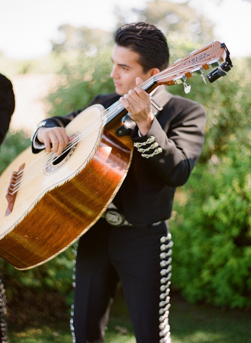 "TRADITIONS: From the chapter on Mexican Wedidings, ""A very important part of the celebration is the Mariachi band at the end of the evening."" Learn more about Mexican weddings at http://www.amazon.com/Celebraciones-Mexicanas-Traditions-AltaMira-Gastronomy/dp/0759122814"