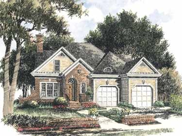 Brick colonial style home inspiration pinterest for Brick colonial house plans