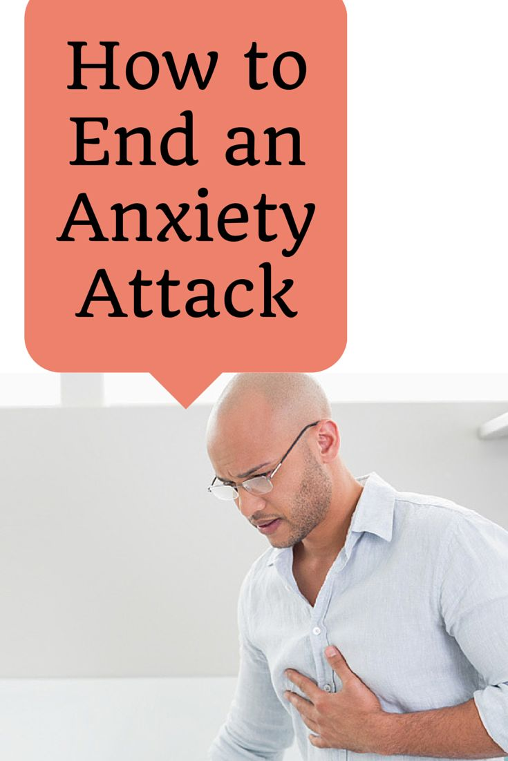 Here's how to stop an anxiety attack and recover. Very helpful, going to write down the steps!