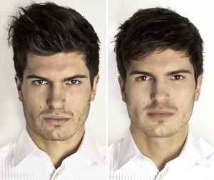 cortes modernos para tirar volume cabelo masculino