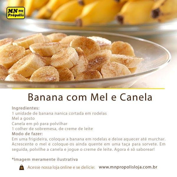 Você que preza por sobremesas de qualidade, que além de satisfazer o paladar também trazem benefícios à saúde, aí vai mais uma receita com o delicioso mel MN Própolis:www.mnpropolis.com.br/