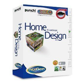 Punch Software Home Landscape Design Suite With NexGen