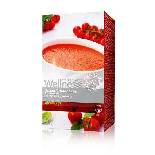 Суп «Нэчурал Баланс» обеспечит тебе вкусный и оптимальный заряд энергии, уменьшая чувство голода и желание перекусить, оставит ощущение сытости, концентрированного внимания и энергии. В одной упаковке 21 порция. 100% натуральные ингредиенты. В одной порции — всего 70 калорий. Высокое содержание клетчатки, белка и Омега-3. Без глютена, лактозы, искусственных красителей и консервантов. Удобно и быстро: готовится за 1 минуту!