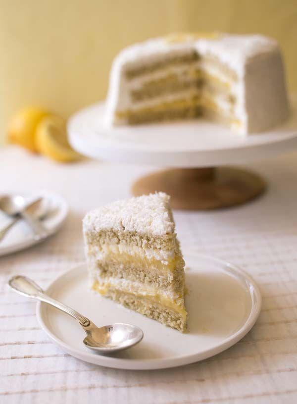 Gâteau layer cake au citron et noix de coco {BATTLEFOOD#29} | Biodélices