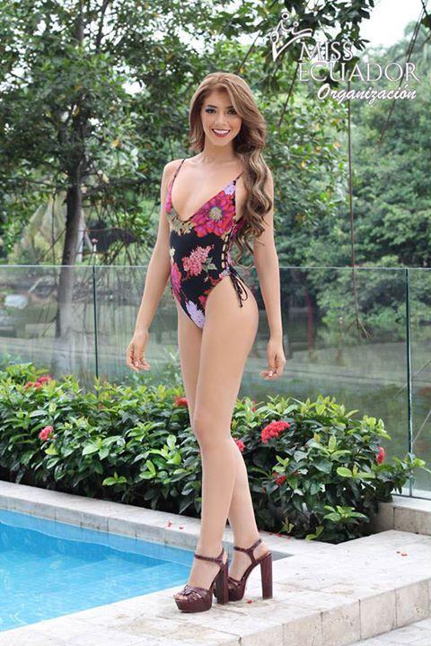 Miss 2018Foto Traje Baño De Oficial A Ecuador En Candidata tQCxBdshr