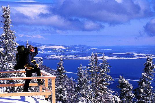 On top of the world in Charlevoix #SommetsStLaurent #charlevoix