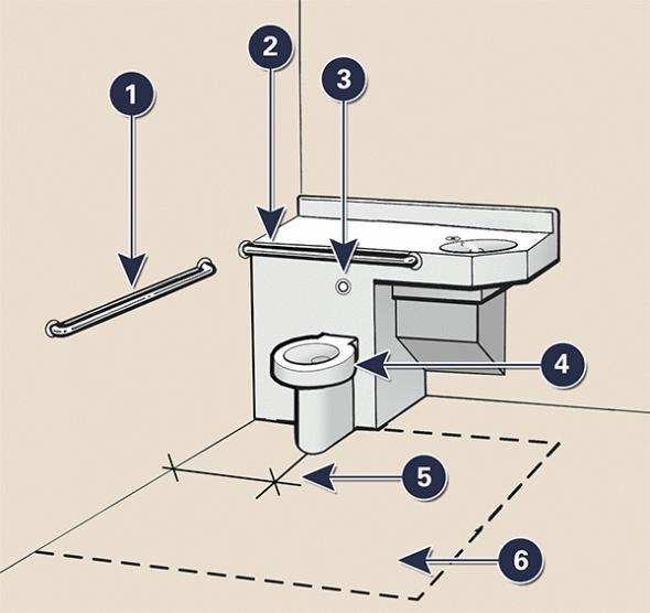 49 best accessible design images on pinterest kitchens for Ada flooring