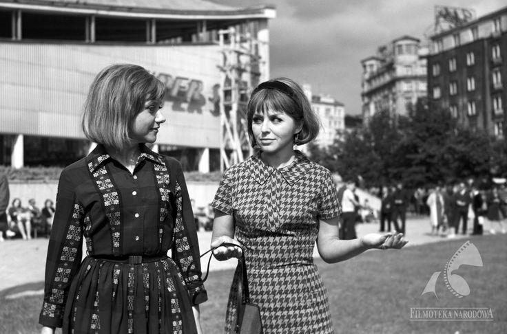 Supersam 1966  #warszawa #warsaw #poland #architektura #PRL #aktorki #mokotów