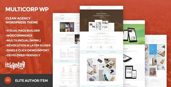 Multicorp WP - Clean Agency WordPress Theme . Multicorp WP - Clean Agency WordPress Theme