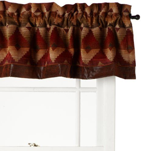 Amazon Kitchen Curtains Discount Store: Croscill Santa Fe Tailored Valance By Croscill. $54.99