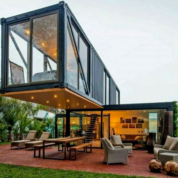 Modern Shipping Container House Plan Design: Love Finding Innovative & Modern Shipping Container Home