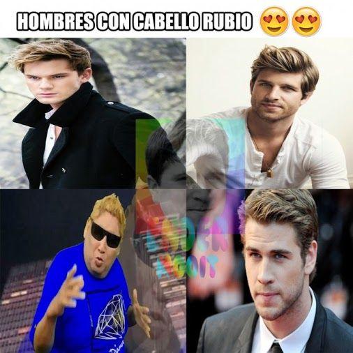 Para las mujeres que les gustan los hombres rubios :v Para más imágenes graciosas visita: https://www.Huevadas.net #meme #humor #chistes #viral #amor #huevadasnet