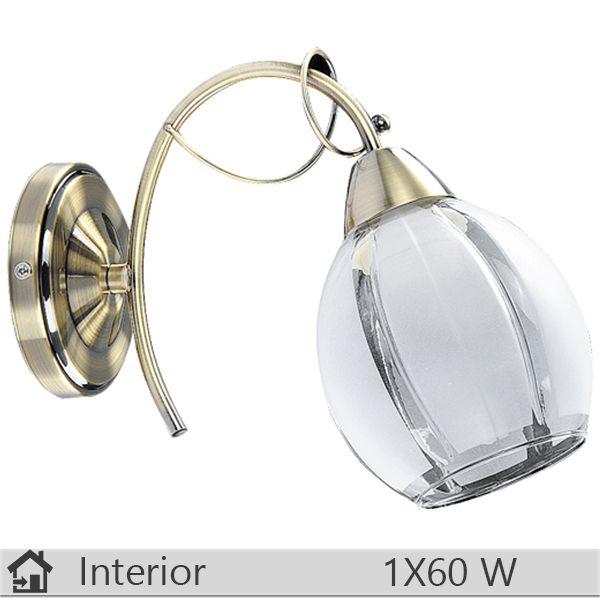 Aplica iluminat decorativ interior Rabalux, gama Joel, model 2269 http://www.etbm.ro/aplice-si-plafoniere