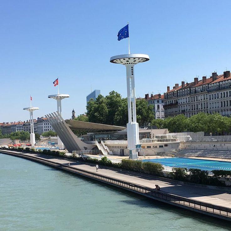 Lyon Rhône piscine