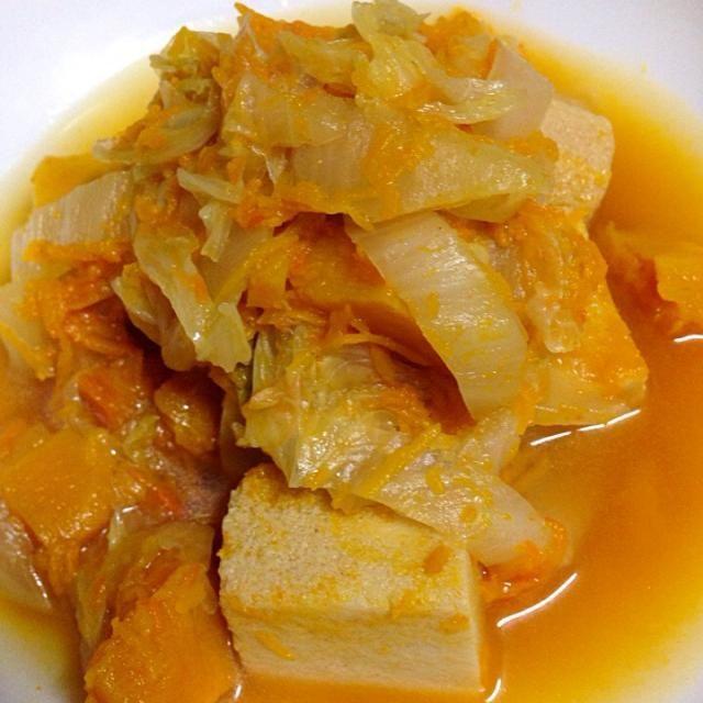 白菜で インフルエンザ予防です - 21件のもぐもぐ - 白菜と高野豆腐の煮物 by yukiemourihnF