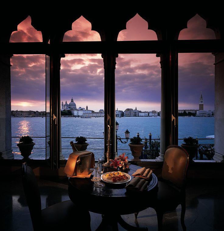 Drift into a dream world as you gaze through Belmond Hotel Cipriani's gothic windows across the Venetian lagoon to St Mark's.