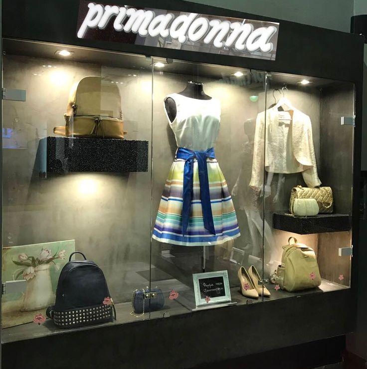 #Γυναικεία_ρούχα κομψά - μοντέρνα - στιλάτα σας περιμένουν στο κατάστημα Primadonna. Read more http://www.primadonna.com.gr
