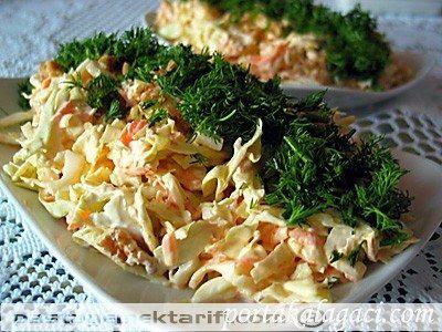 Lahana Salatası yemek tarifi, Aperatifler - Kahvaltılık - Salatalar resimli tarifleri