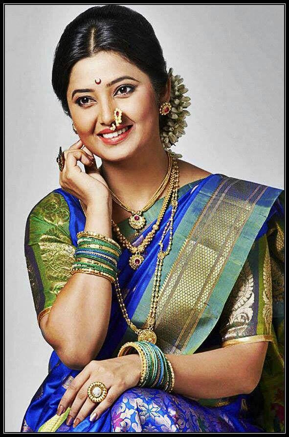 Indian Girls Beauty Images Marathi Actress Pinterest