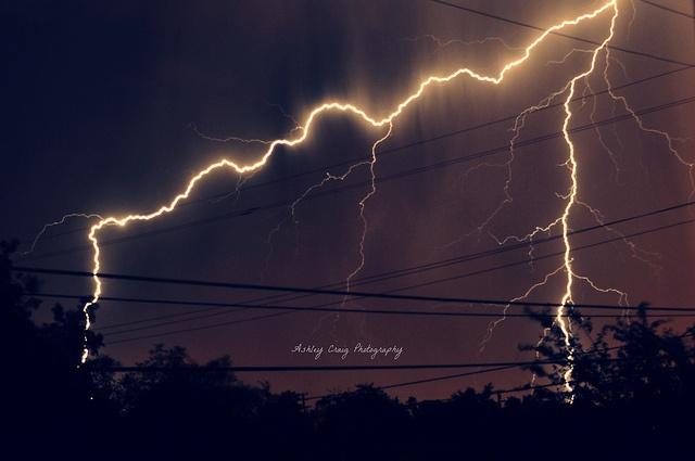 crazy storm we had.